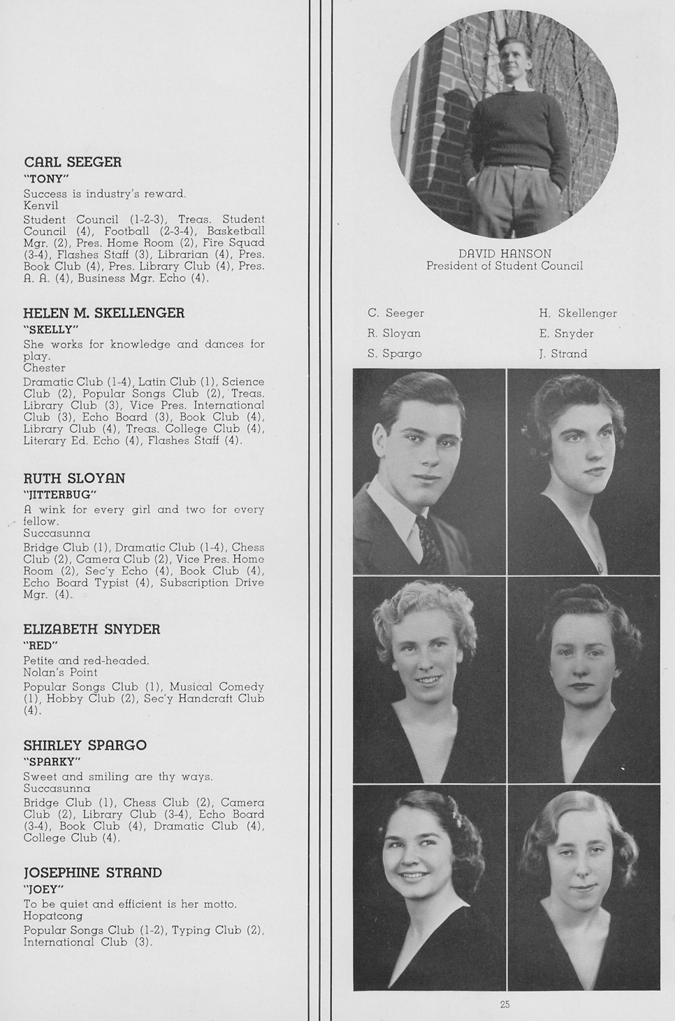 1939 Roxbury High School, Succasunna New Jersey NJ Yearbook