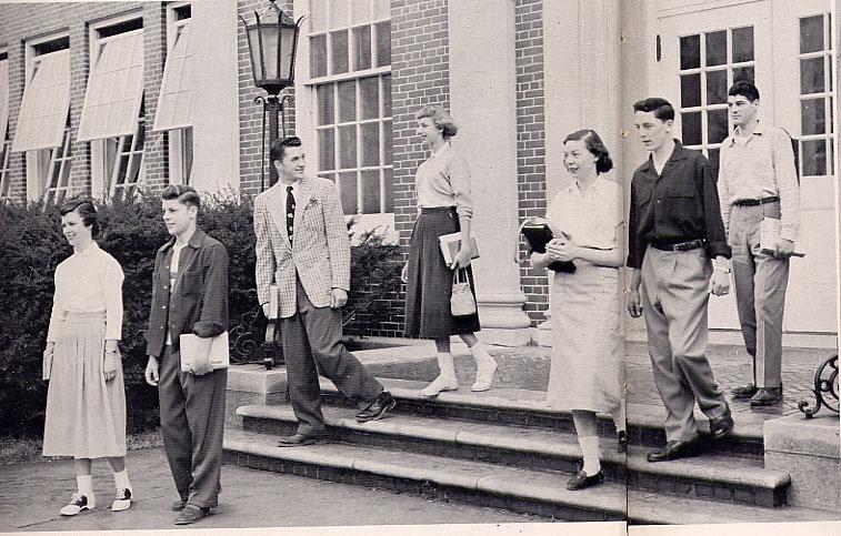1954 Roxbury High School New Jersey Yearbook
